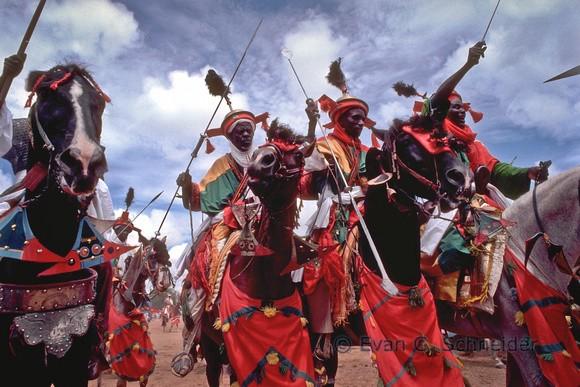 People in modern Mali still reenact the empire's battles.