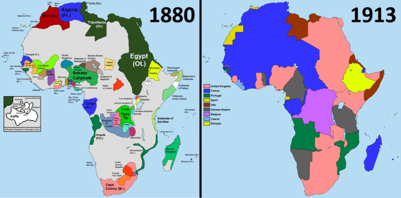 """The """"Scramble for Africa"""""""