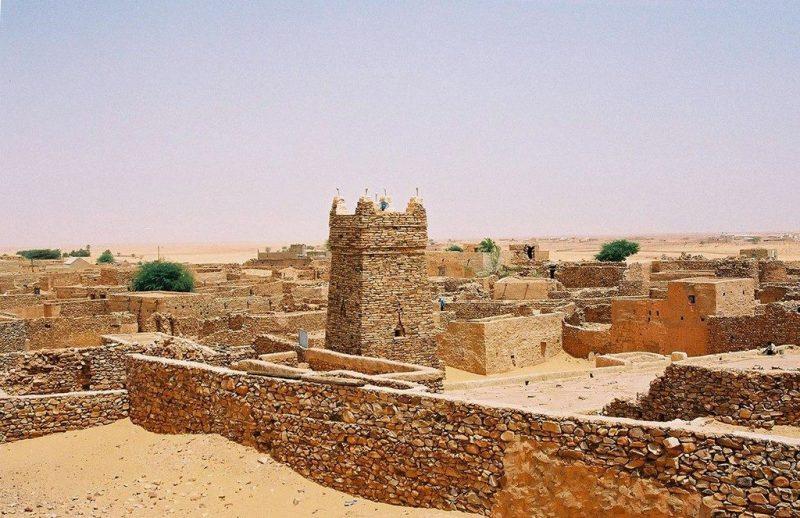 The ruins of ancient Koumbi Saleh today