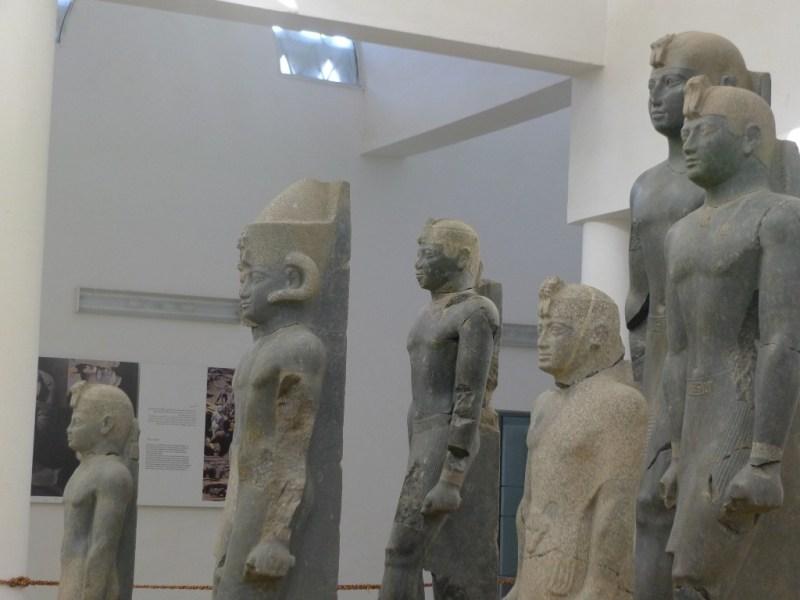 Statues of Kerma Kingdom rulers