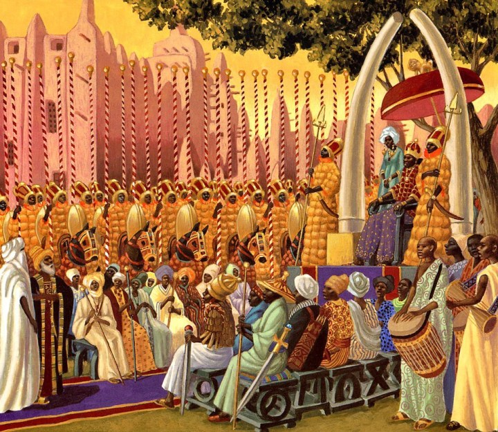 The court of Mansa Musa