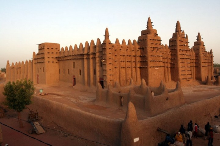 The Great Mosque of Djenné, in modern Mali