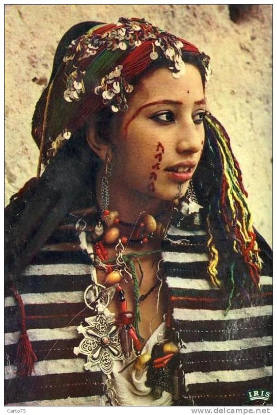 An Amazigh (Berber) woman in the early twentieth century