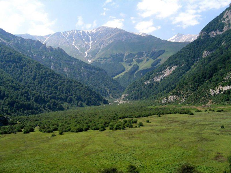 Darya Sar, in the Elburz Mountains of modern Iran.
