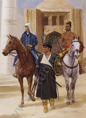 Persian travelers during the Golden Age of Islam.