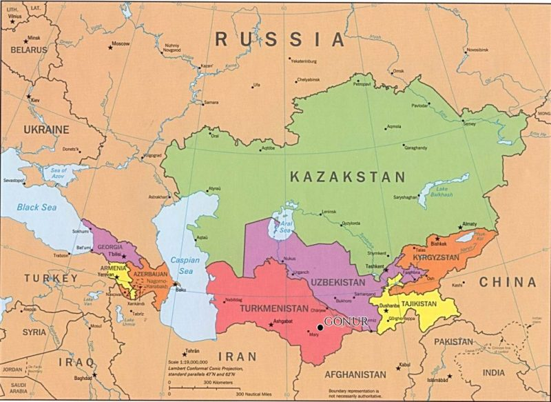 Now you can proudly say you can find Turkmenistan on a world map!