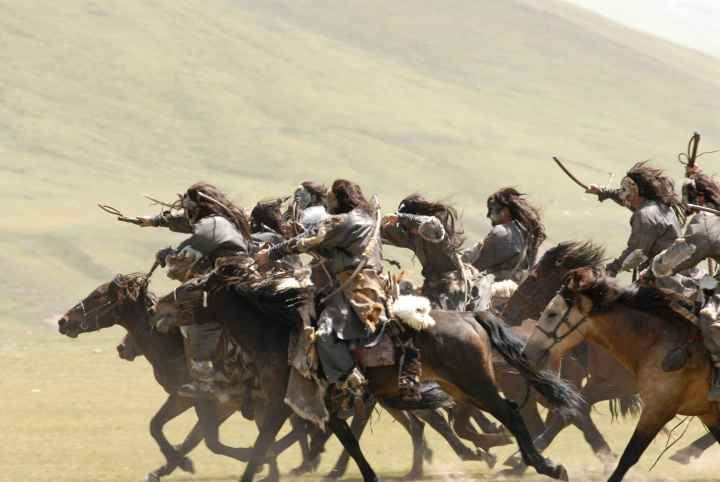 Steppe raiders descend on their enemies.