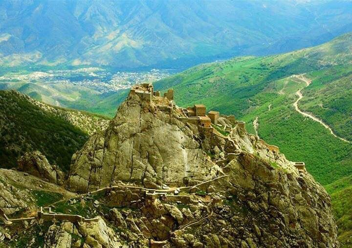 Bessus's mountain fortress, known as the Sogdian Rock.