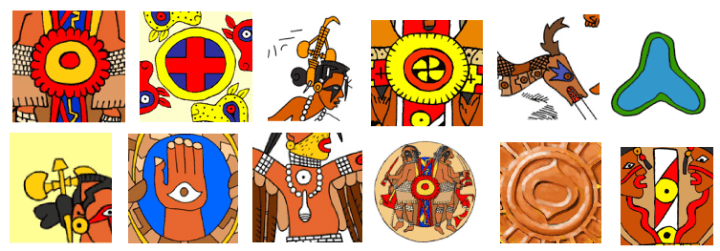 Symbols used by the Southeastern Ceremonial Complex (SECC).