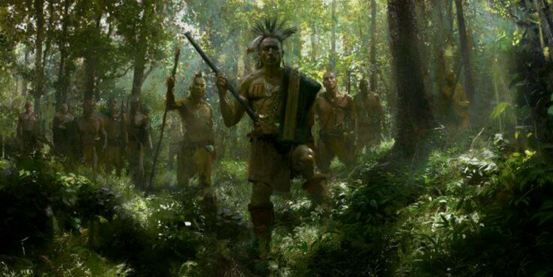 """Iroquois Warriors"" by Craig Mullins"