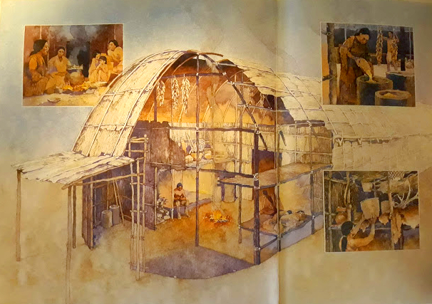 An Iroquois Longhouse