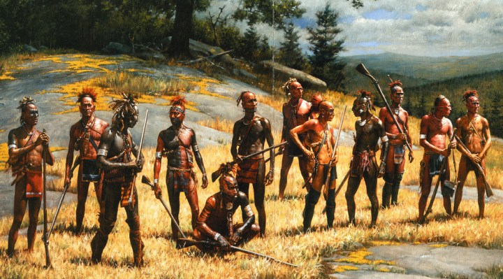 """War Party From Ticonderoga"" by Robert Griffing"