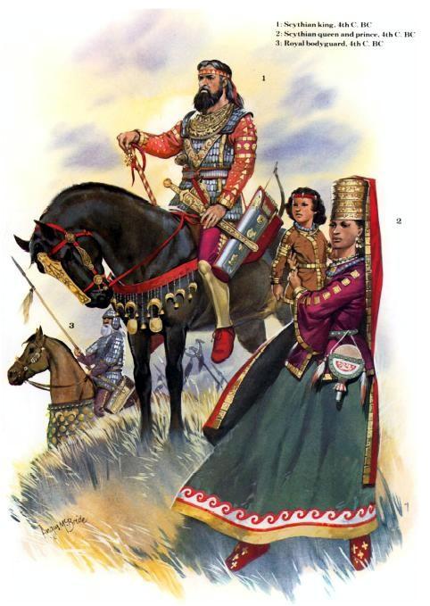 A Scythian family