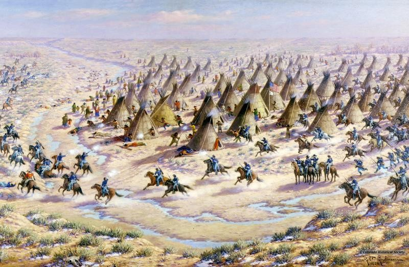 The Sand Creek Massacre of 1864