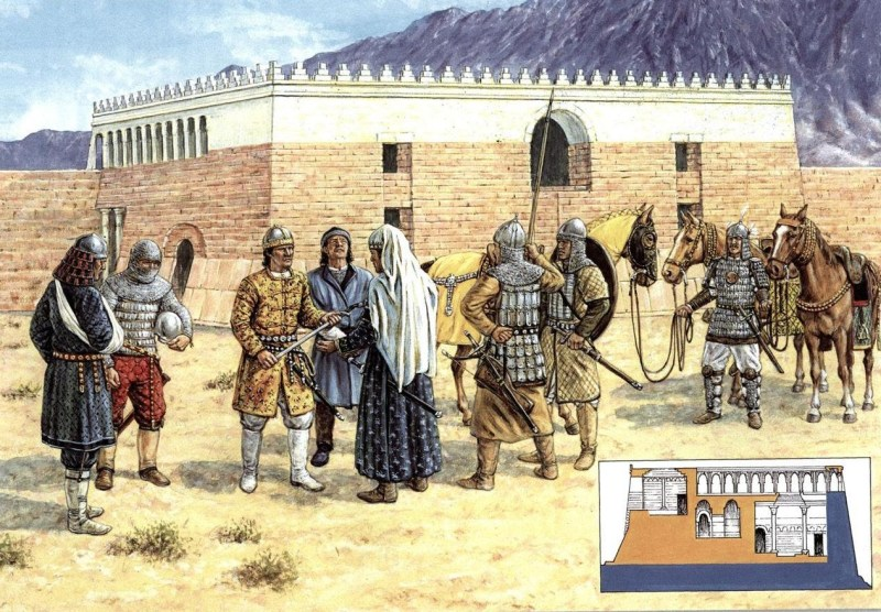The surrender of the fortress of Qala'i-i Kahkakha
