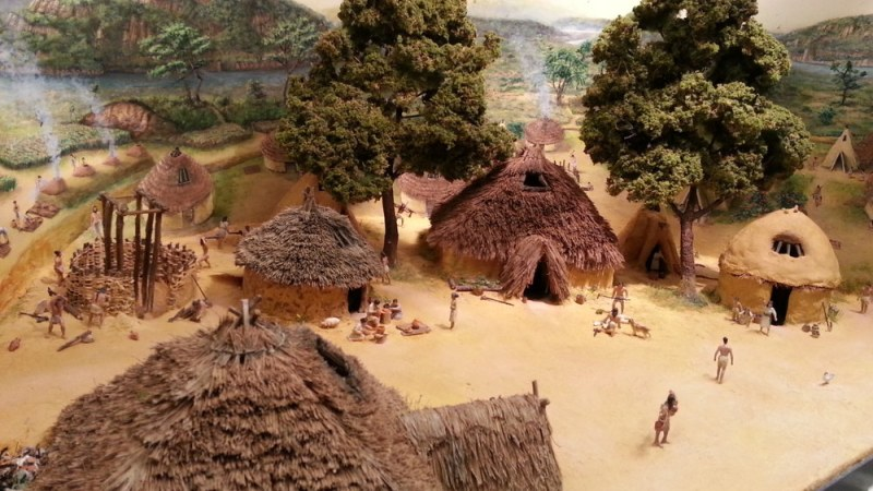 A neolithic Chinese village