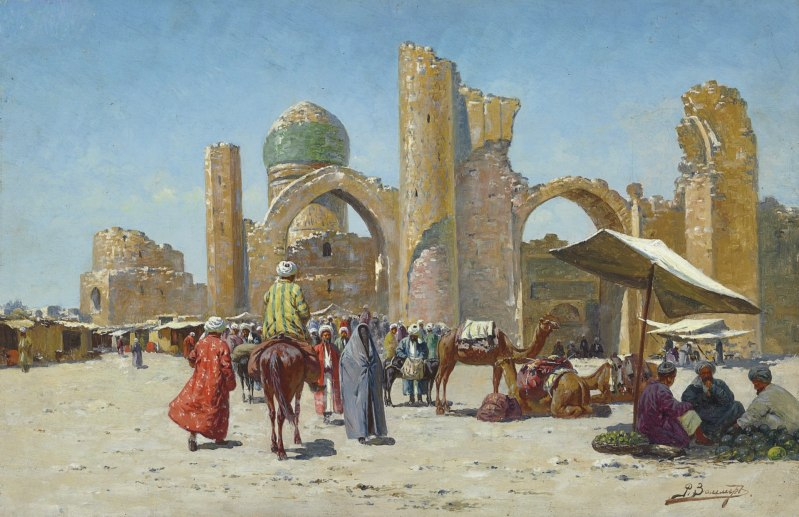 """Samarkand"" by Richard-Karl Karlovitch Zommer"