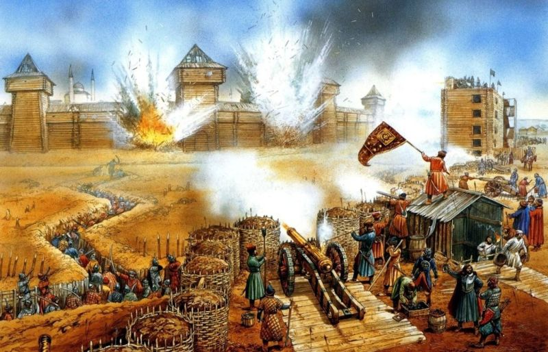 The Siege of Kazan, 1552