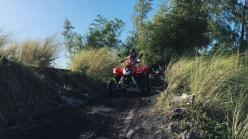 ATV at the foot of Mayon