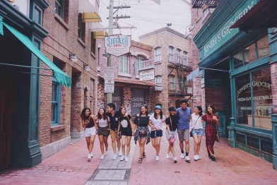 The Zizis at Universal Studios Singapore
