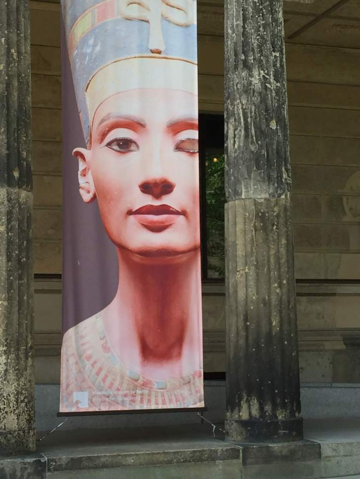 Nefertiti, the beautiful one has come forth
