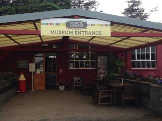 pencil museum entrance