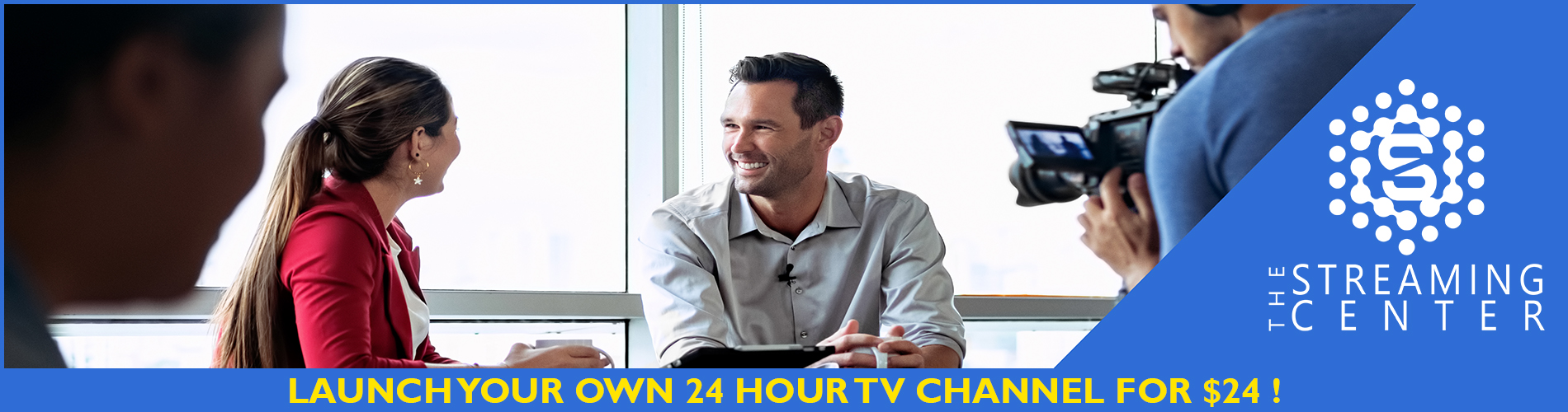 24 Hour TV Channel Hosting