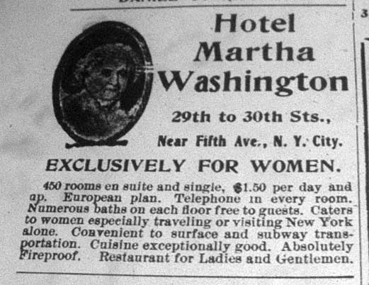 Image result for martha washington hotel for women