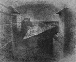 View from the window at Le Gras, ca. 1826.