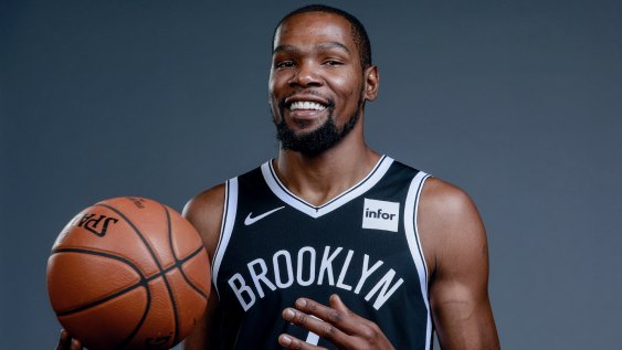 Kevin Durant, top 10 basketball player now