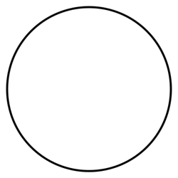 Empty clock face to plot your activities. To determine the amount of stress you may be under.