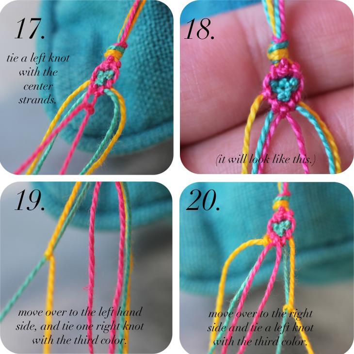 garantie de haute qualité magasiner pour le meilleur offrir des rabais DIY: Diamond Friendship Bracelets - The Stripe