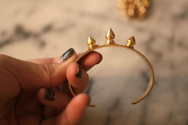 DIY-Spike-Bracelet-Step-3