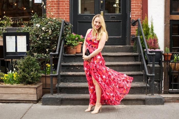 diane von furstenberg davina floral maxi dress