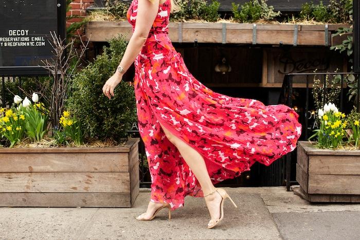 dvf davina floral print maxi dress
