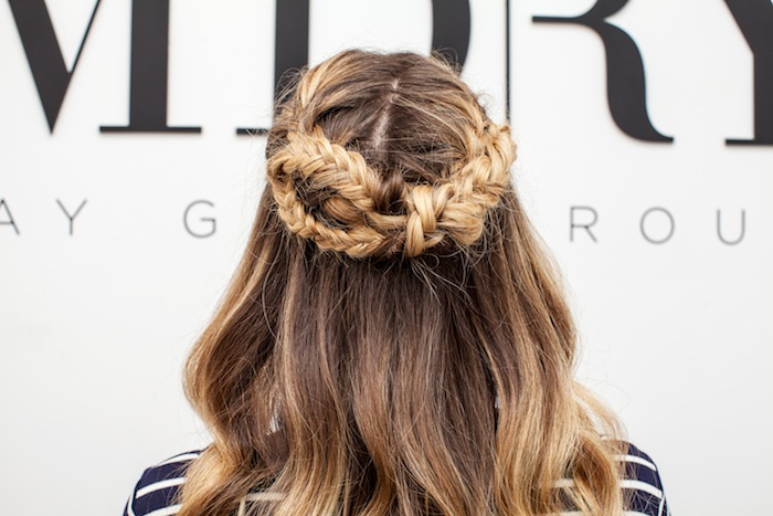 game of thrones braid hair tutorial 2