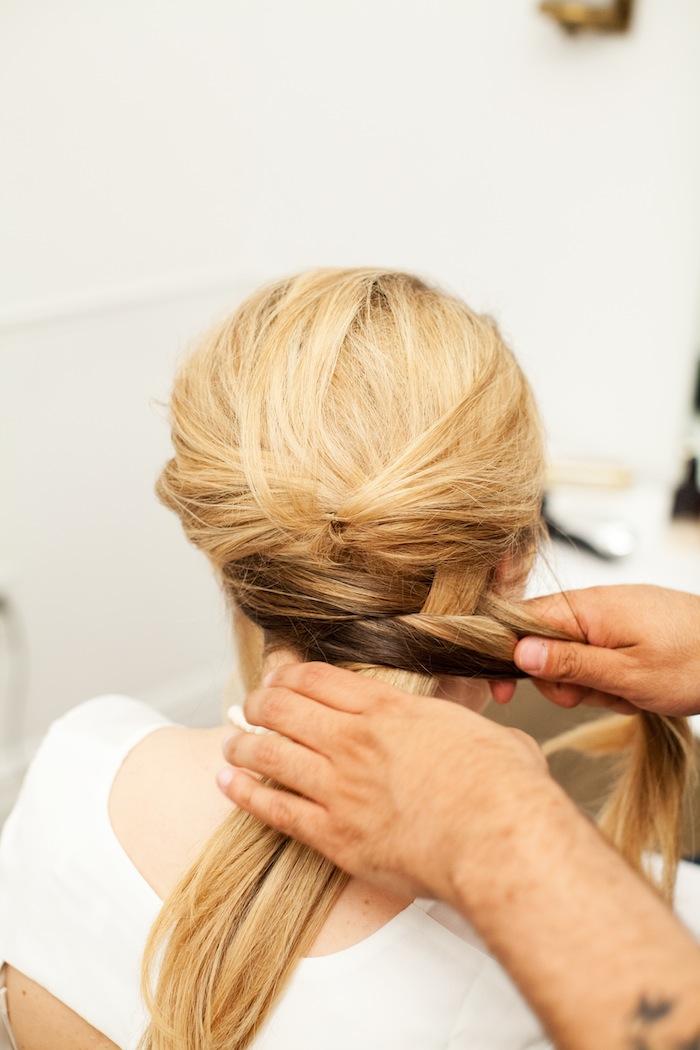 fishtail braid tutorial 16