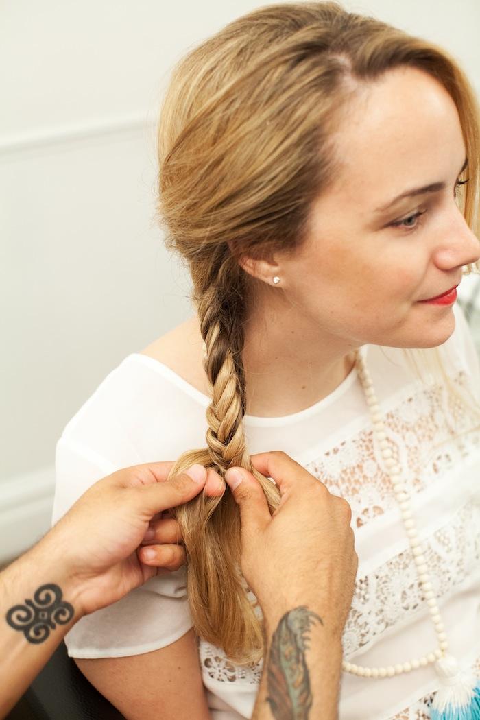 fishtail braid tutorial 22