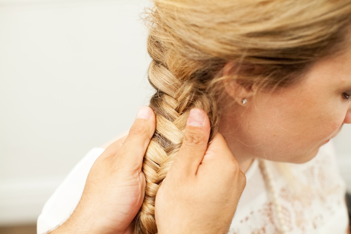 fishtail braid tutorial 23