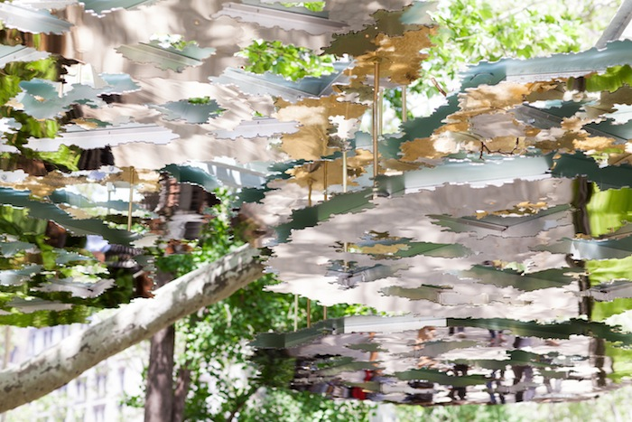 Mirroed Art Installation in Madison Square Park - The Stripe.