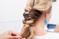 Topsy Tail Braid Hair Tutorial. - The Stripe