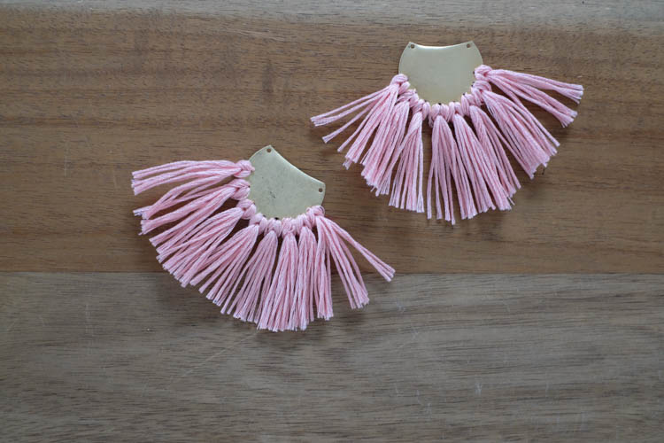 DIY Tassel Earrings17