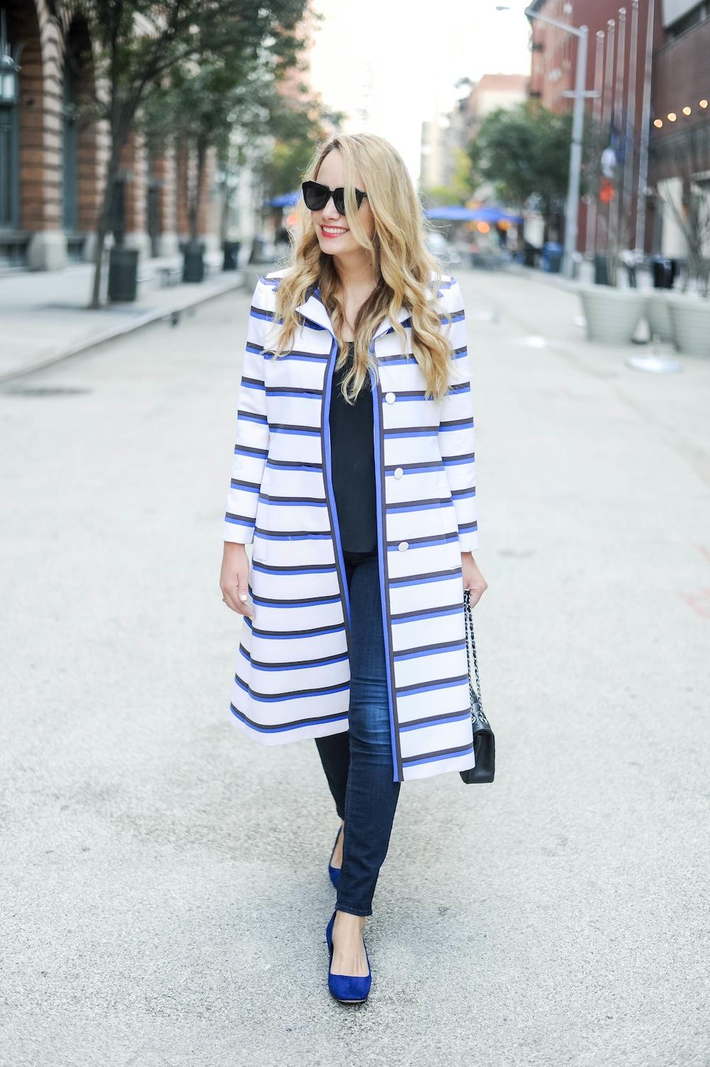 vintage stripe coat doris duke 3