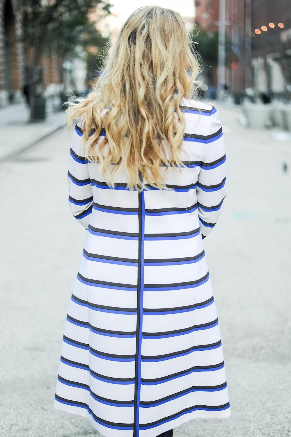 vintage stripe coat doris duke 5
