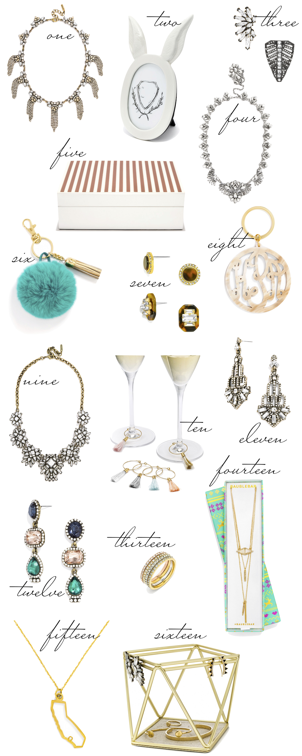 The Stripe BaubleBar Gift Guide