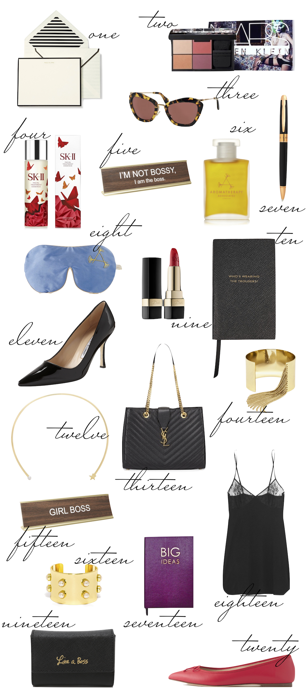 The Stripe The Boss Lady Gift Guide 2015