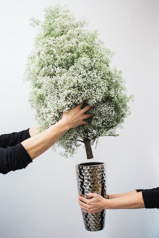 diy pine tree arrangement 11
