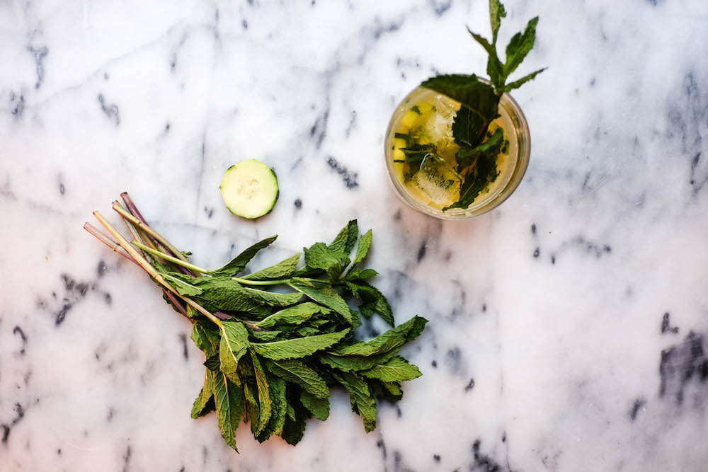 Garden Maid Cocktail Recipe - Grace Atwood - The Stripe7