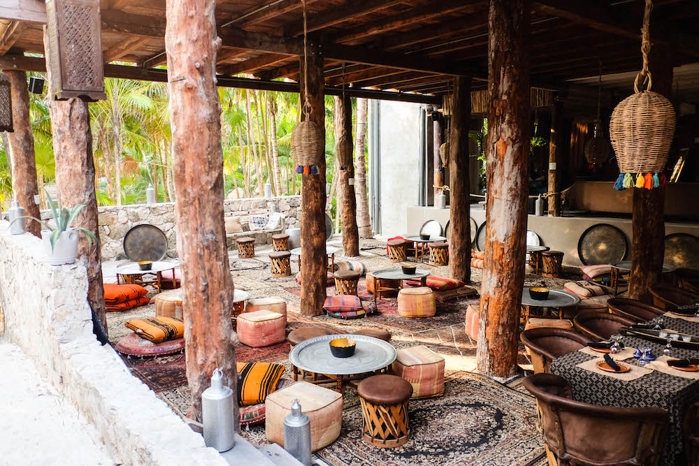 tulum travel guide the stripe blog - nomade hotel