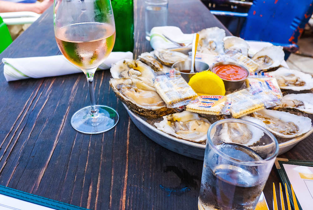 oysters at leon's